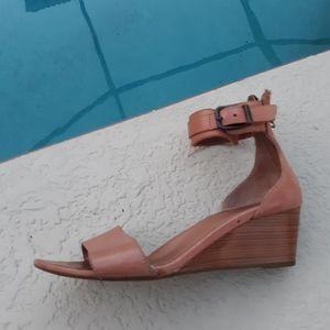 UGG Tan Leather Sandal